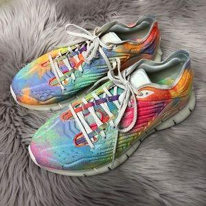 Reebok Zig Kinetica Rainbow Pride Sneakers